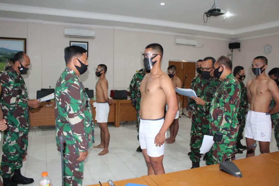 15 Casis Tamtama PK TNI AU Mengikuti Pantukhirda di Lanud Suryadarma