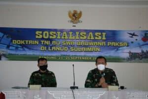 Sosialisasi Doktrin dan Petunjuk di Lanud Sulaiman