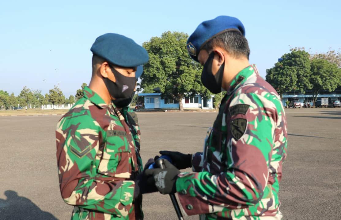 Serda Enri Monang Sagala Siswa Lulusan Terbaik SBIT A-48 Skadik 201 Lanud Sulaiman