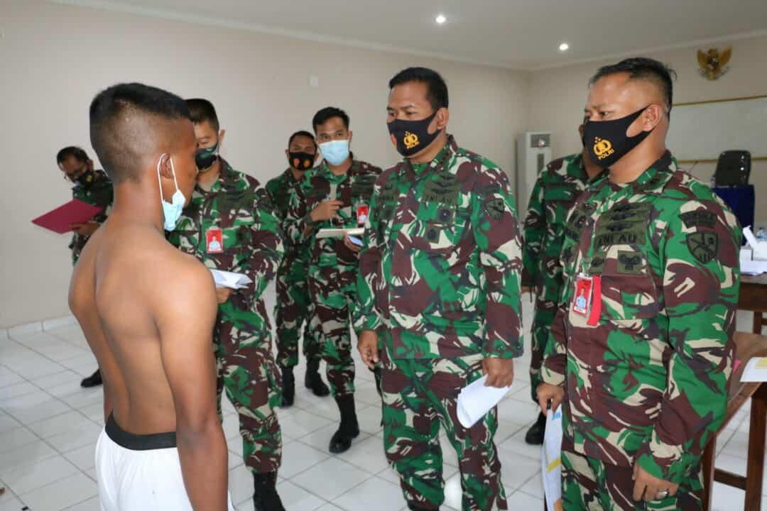 Komandan Lanud Dhomber Pimpin Sidang Pantukhir Daerah Calon Tamtama PK TNI AU Gel. I TA 2020 Di Lanud Dhomber