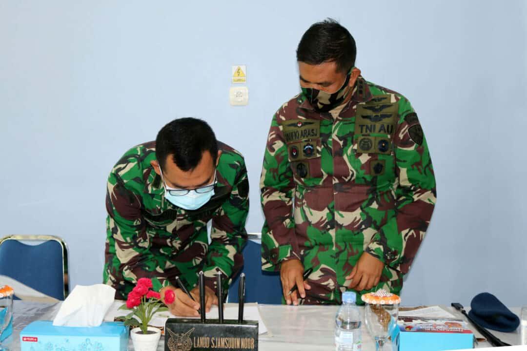 Akademi Keperawatan Kesdam VI/Tanjungpura Jalin Kerjasama Dalam Rangka Pelaksanaan Praktek Klinik Keperawatan Bagi Mahasiswa di Rumah Sakit TNI AU Sjamsudin Noor