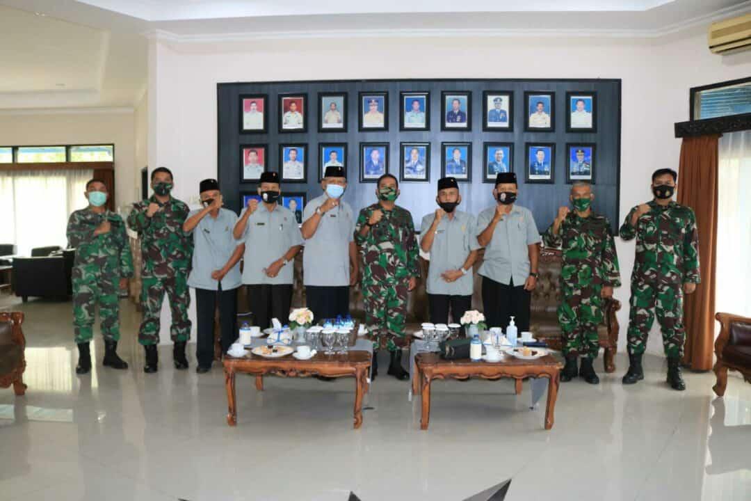 Komandan Lanud Sjamsudin Noor Terima Kunjungan Silaturahmi DPD PEPABRI Prov. Kalimantan Selatan