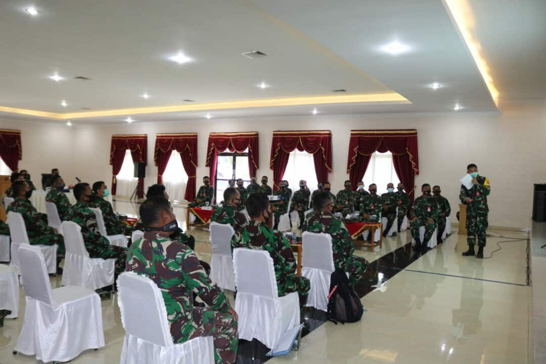 Entry Briefing Wasrik Itjenau di Kosekhanudnas III