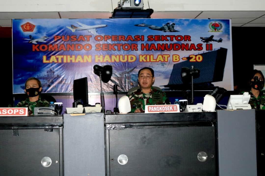 Pangkosekhanudnas II, Buka Latihan Kilat dan Cakra B-20 T.A 2020