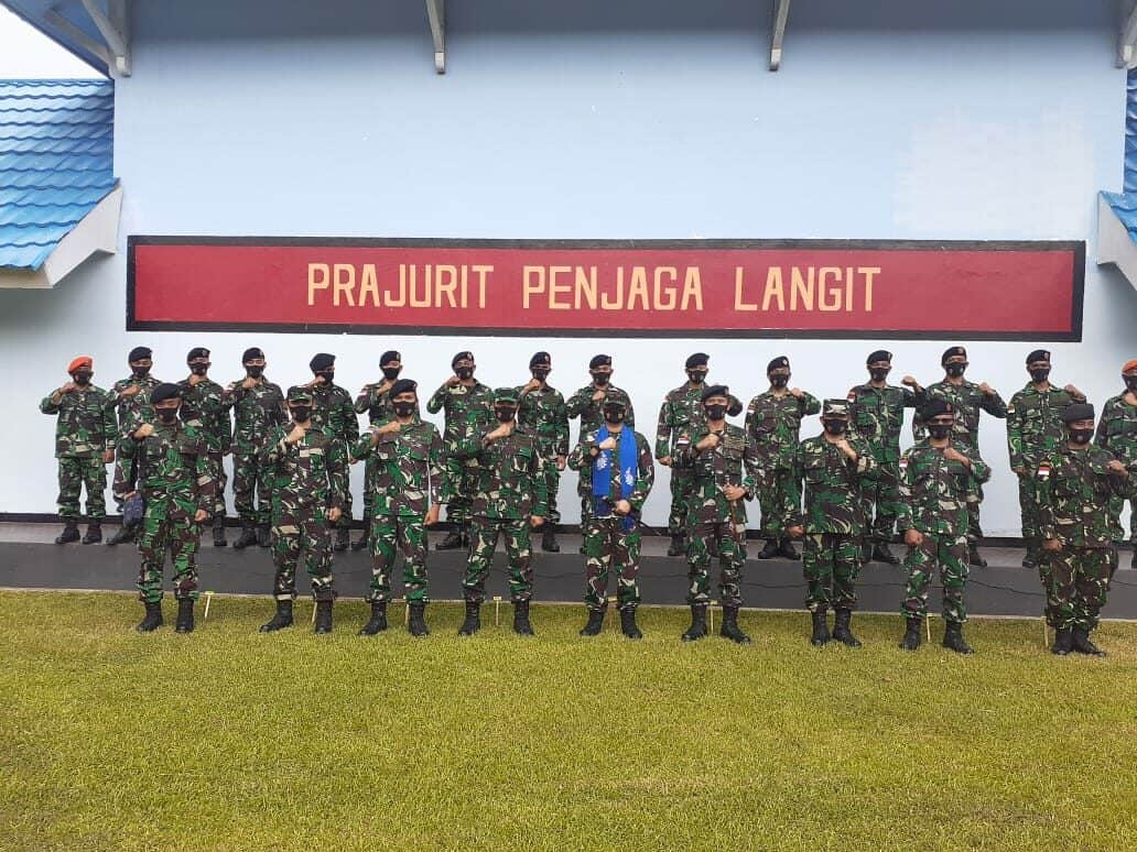 Kuker Pangkosekhanudnas II di Satrad 224 Kwandang di Gorontalo Sulawesi Utara