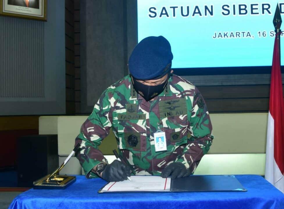Resmikan Satsiber Dispamsanau, Kasau: Internet Berevolusi Menjadi Domain Sarana Untuk Pertempuran