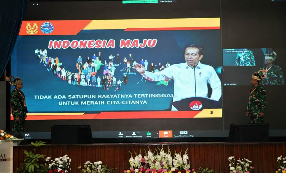 TNI Polri Konsepkan Pengawalan Pembangunan Nasional Menuju Indonesia Maju