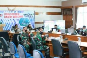 Tiga Skadron Udara Tempur Lanud Iswahjudi Ikuti Gladi Posko Latihan Puncak Koopsau II