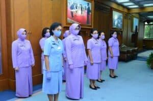 Kasau Terima Laporan Kenaikan Pangkat 8 Pati TNI AU