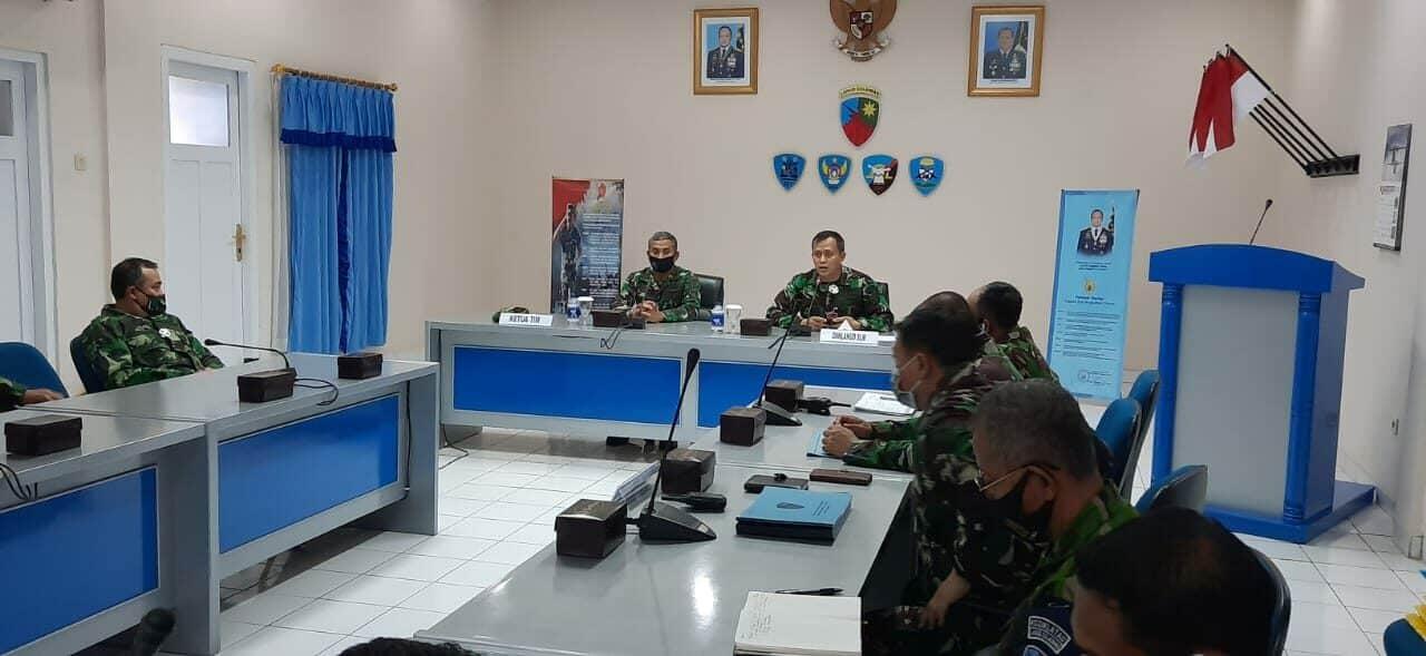 Exit Briefing Wasrikkap Itjenau Di Lanud Sulaiman