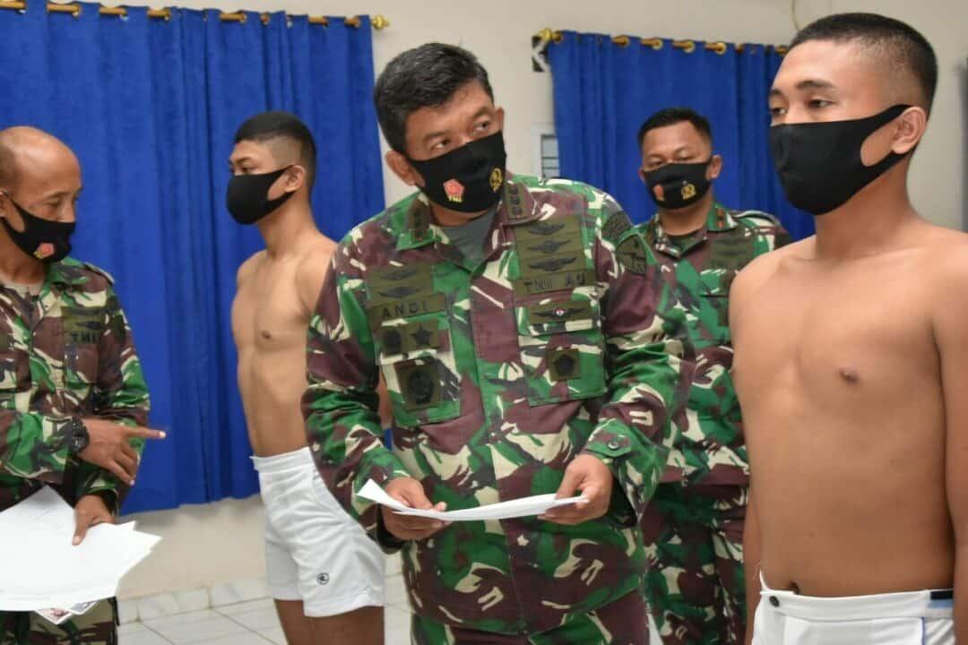 Danlanud RHF Pimpin Sidang Pantukhirda Tamtama PK Gelombang I Tahun 2020