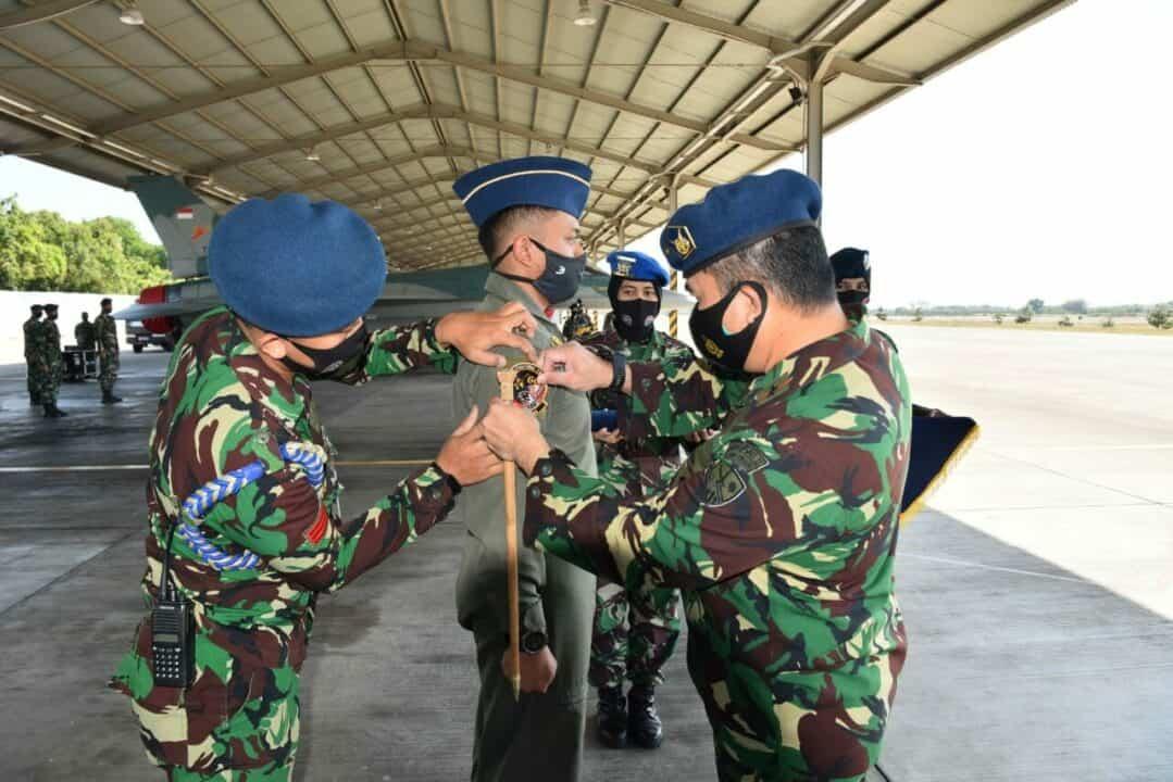 Lettu Pnb Yanuar Widyantoko Lulus Pendidikan Transisi pesawat F-16