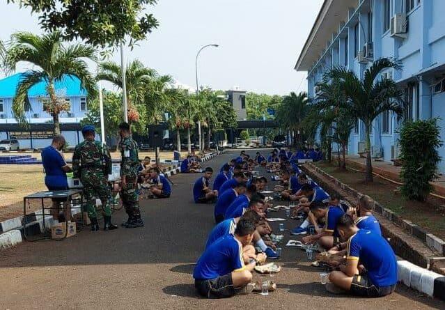 Uji Hasil Budikdamber, Puspomau Laksanakan Panen Lele dan Kangkung