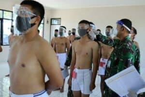 Pantukhirda Calon Tamtama PK Gelombang I Lanud Sugiri Sukani