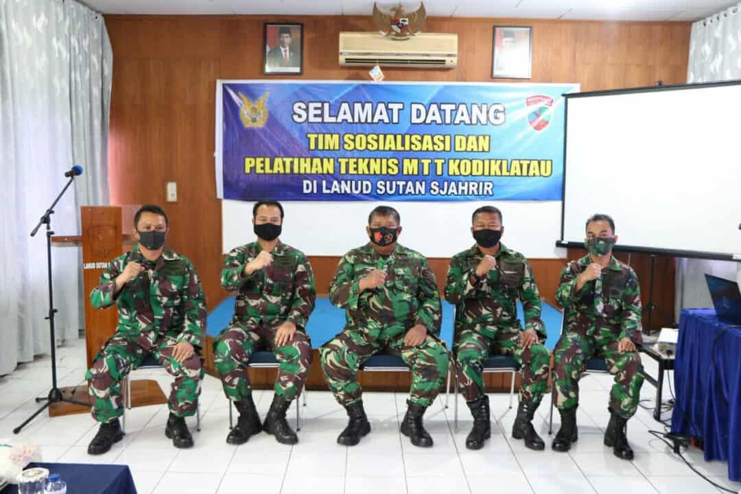 Sosialisasi Dan Pelatihan Teknis MTT dari Kodiklatau Di Lanud Sutan Sjahrir