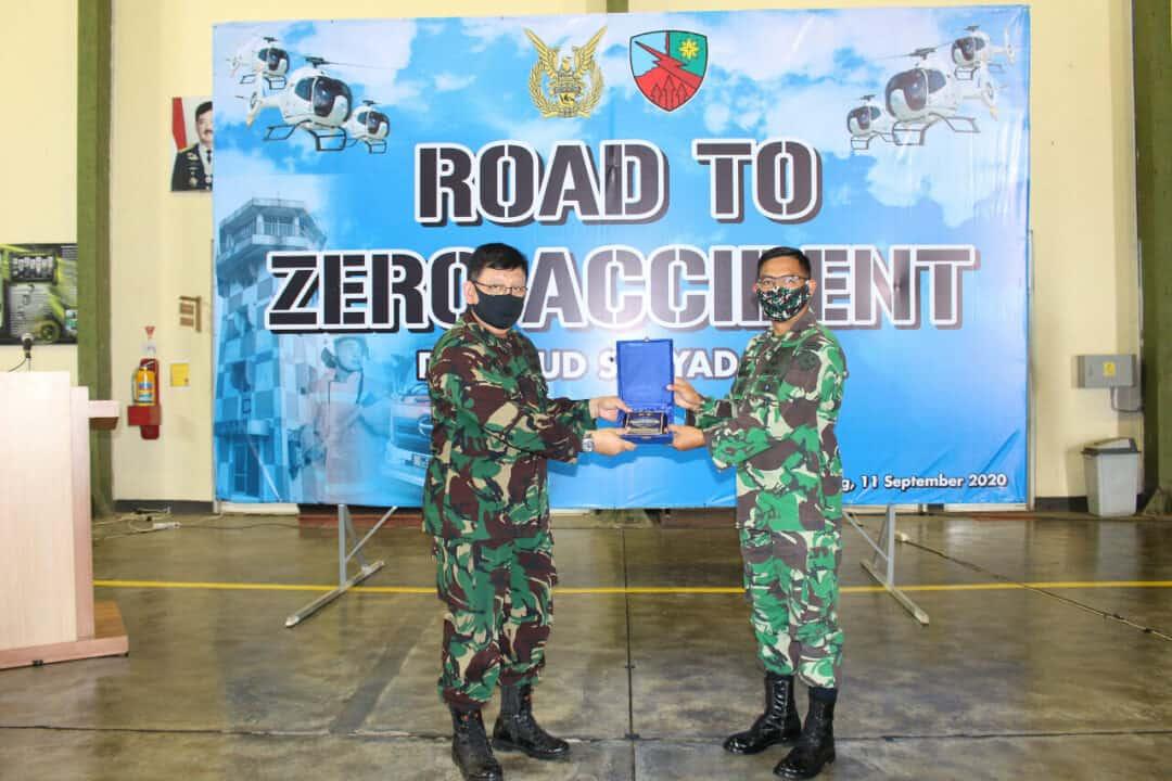 "ROAD TO ZERO ACCIDENT"" PUSLAIKLAMBANGJAAU DI LANUD SURYADARMA"