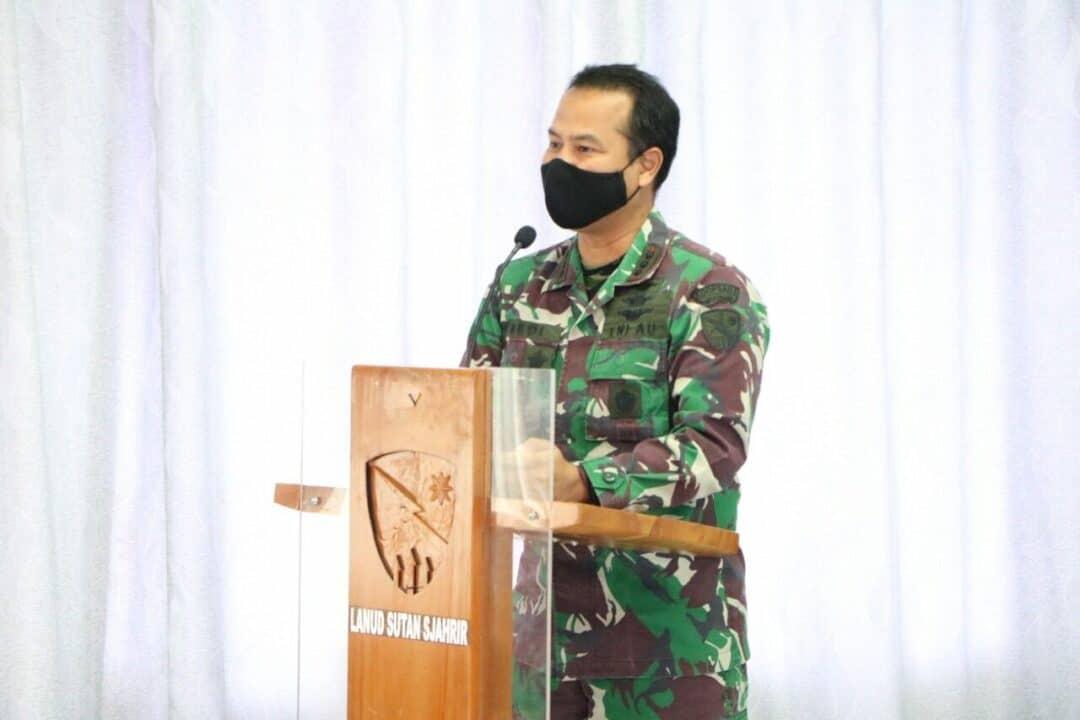 Tim Itjenau Sosialisaikan Sistem Pengendalian Intern Pemerintah (SPIP) di Lanud Sutan Sjahrir