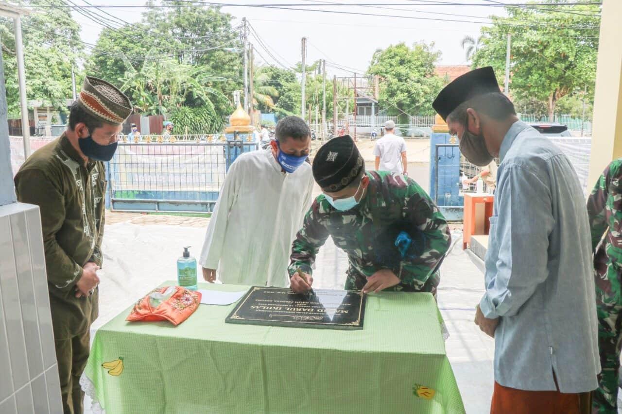 Danlanud Halim Resmikan Masjid Darul Ikhlas di Komplek Angkasa