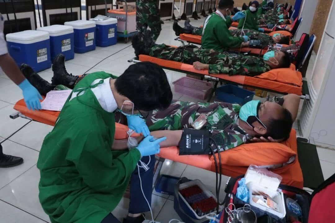 Masa Pendemi Stok Darah di DKI menipis, TNI AU Gelar Donor Darah Selama Dua Hari