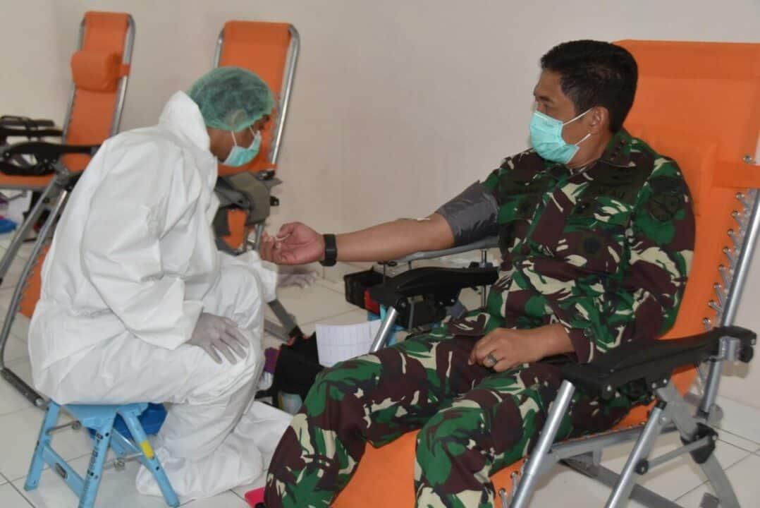 TNI AU Bakorda Bandung Gelar Bakti Donor Darah