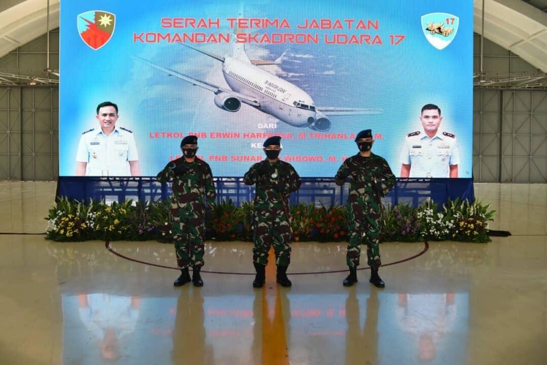 Letkol Pnb Sunar Adi Wibowo Jabat Danskadron Udara 17