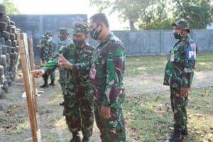 Lanud Sugiri Sukani Laksanakan Latihan Menembak Laras Pendek / Pistol