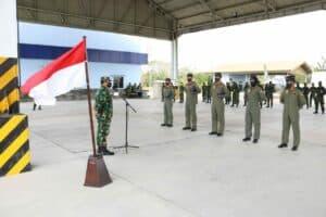 Pembukaan dan Penutupan Pendidikan Transisi Pesawat Tempur T-50i Golden Eagle Skadron Udara 15