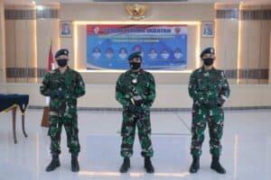 Pangkoopsau I Pimpin Sertijab Danlanud Raden Sadjad, Danlanud Jendral Besar Soedirman dan Danlanud Wiriadinata