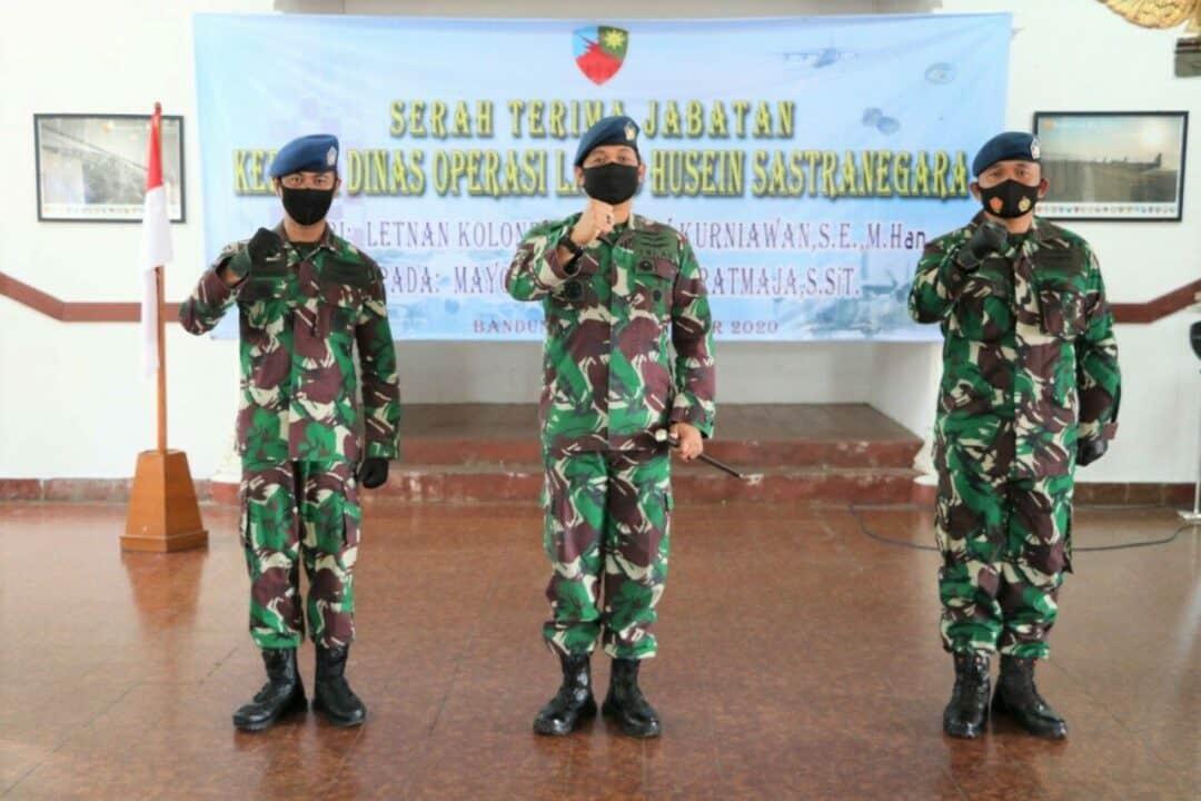 Mayor Lek I Ketut Wiratmaja,S.SiT.Jabat Kadisops Lanud Husein Sastranegara