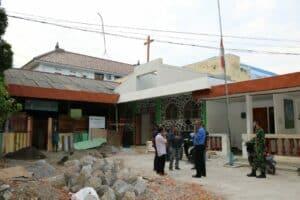 Waaspotdirga Kasau Tinjau Fasilitas Umum dan RTLH di Kabupaten Magetan