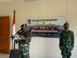 Danwingdikum Resmi Tutup KIBI Sesa Sultan Hasanuddin A-15