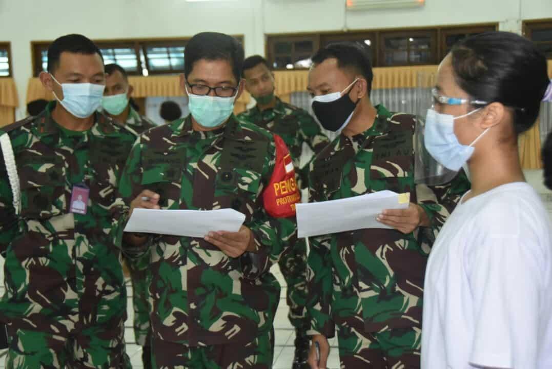 Danlanud Husein S : Pantukhirda Sarana Menjaring SDM TNI Angkatan Udara Yang Handal.