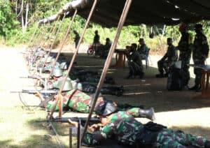 Yonko 462 Paskhas Melaksanakan Lomba Antar Satuan Operasional (Laso)