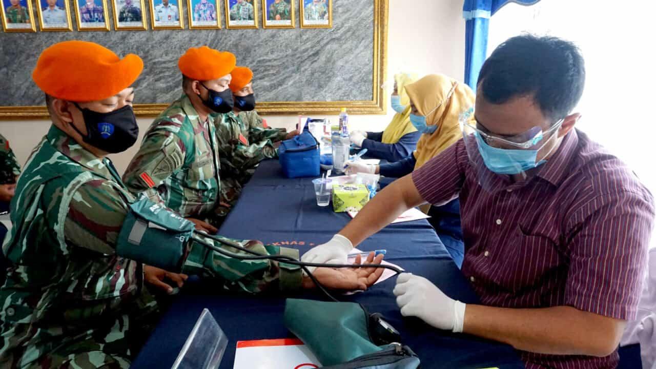 Yonko 462 Paskhas Melaksanakan Donor Darah