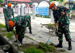 Yonko 462 Paskhas Melaksanakan Bakti Sosial Dalam Rangka Hut Ke 73 Korpaskhas
