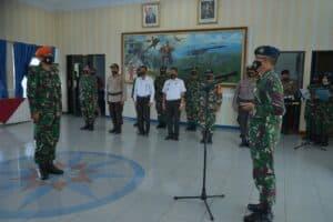 Tiga Prajurit Bintara Lanud Sultan Hasanuddin Dikukuhkan sebagai Babinpotdirga TNI AU