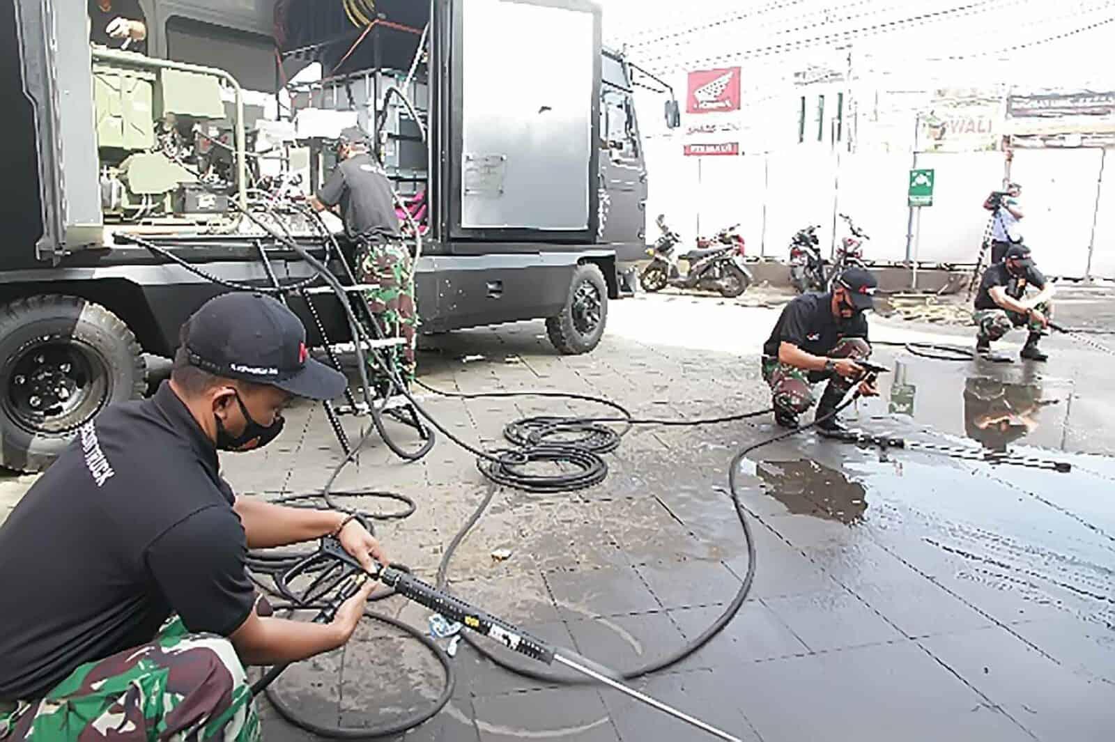 """Pelatihan dan Uji Fungsi Ransus """"Decon Truck Korpaskhas"""""""