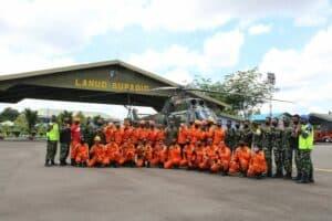 Lanud Supadio Dukung Latihan SAR KPP Pontianak.