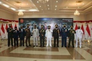 Danlanud Rsn Hadiri Upacara HUT Ke-75 TNI Secara Virtual