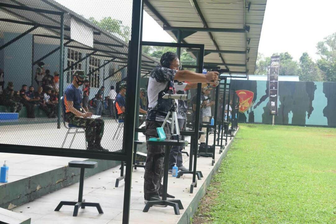 Penutupan Kejuaraan Menembak Panglima TNI Cup 2020 di Lapangan Tembak Djamsuri Wing I Paskhas