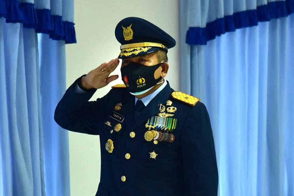 Wadan Korpaskhas Ikuti Peringatan HUT ke-75 TNI Tahun 2020 di Lanud Sulaiman