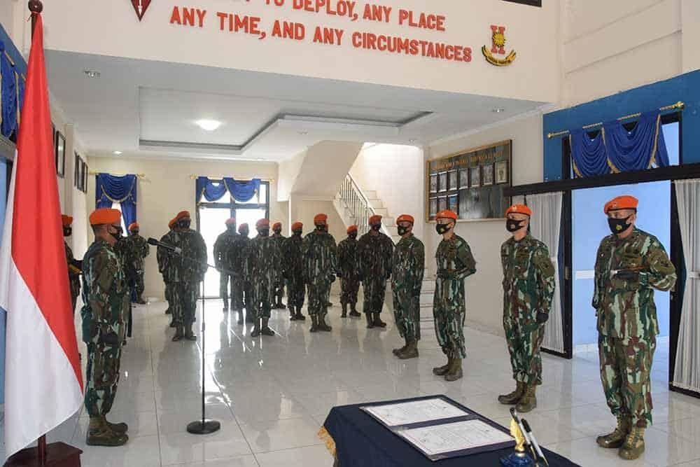 Serah Terima Jabatan Komandan Satuan di Jajaran Wing II Paskhas