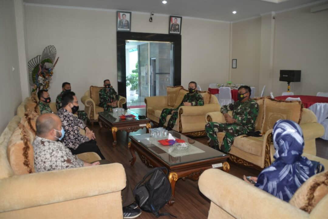 Kunjungan Kerja Tim BPK RI di Kosekhanudnas III