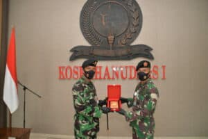 Letkol Lek M. Ismed Nafriza Emban Jabatan Askomlek Kosekhanudnas I