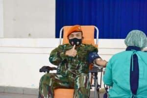 Sambut HUT Ke-73 Mako Korpaskhas Adakan Donor Darah