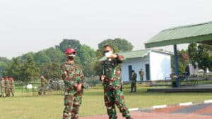 Sebanyak 296 Siswa Susparadas A-189 Skadik 204 Praktek Terjun Hari Pertama DZ Lanud Sulaiman