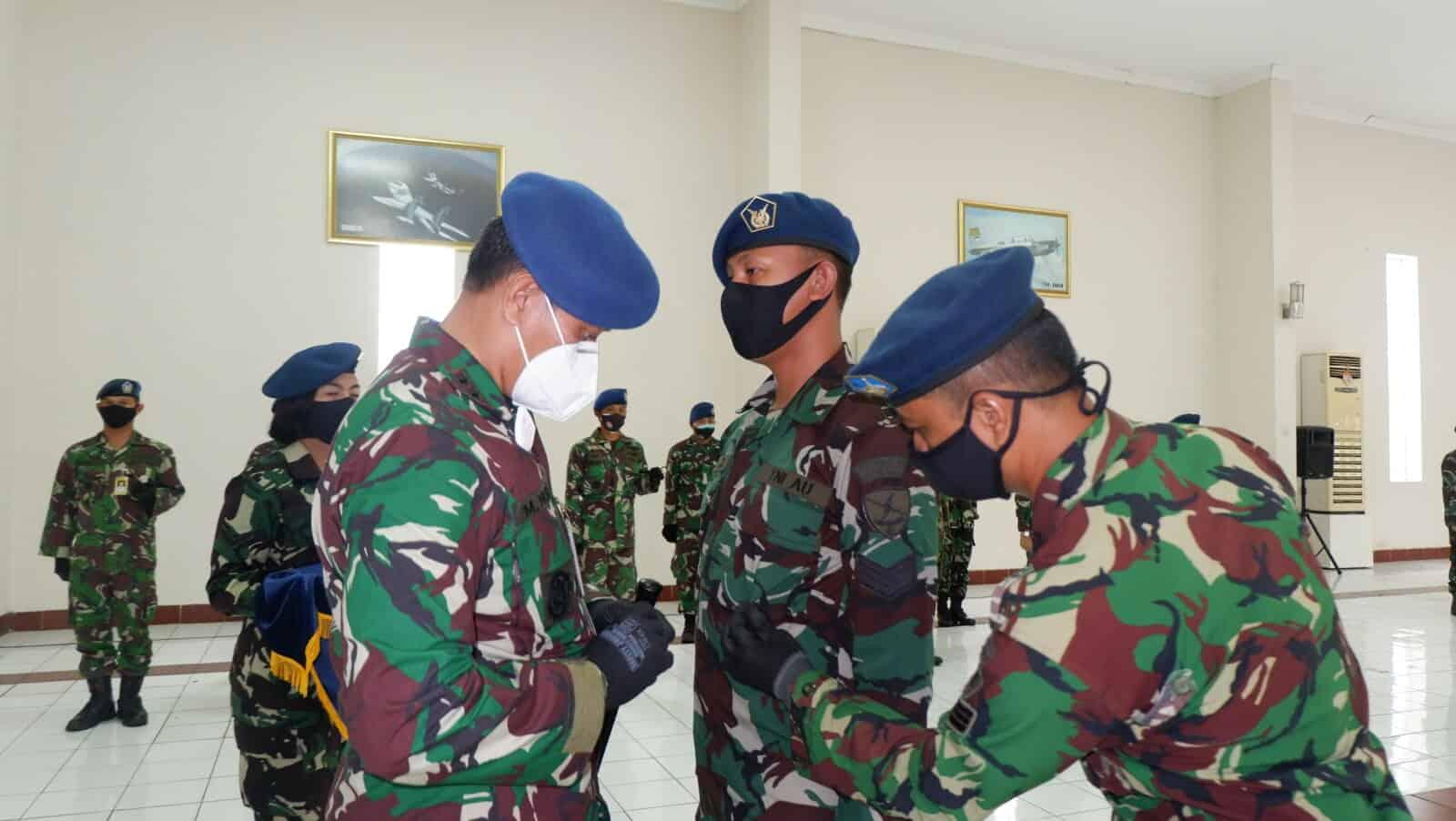 Danlanud Sulaiman Buka Dikkualsus Susba Inspektor Har Alkomalbanav Angkatan Ke-6 Skadik 202