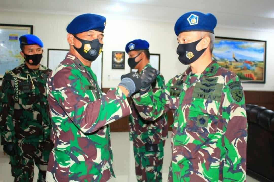 Jabatan Kadispers Lanud Abdulrachman Saleh Berganti