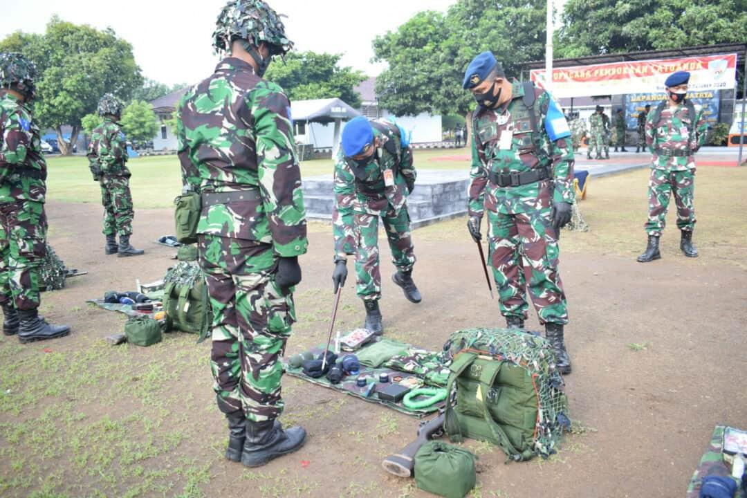 Danlanud Adi Soemarmo Buka Latihan Berganda Siswa Setukba TNI AU Angkatan ke-37