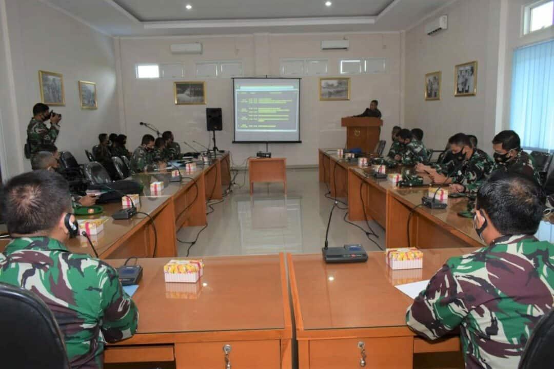Secapa TNI AD adakan Study Banding di Setukpa Lanud Adi Soemarmo